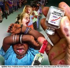 Het smerige vaccinatie propagandaspel